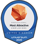 Universum Most Attractive Employers 2020 logo